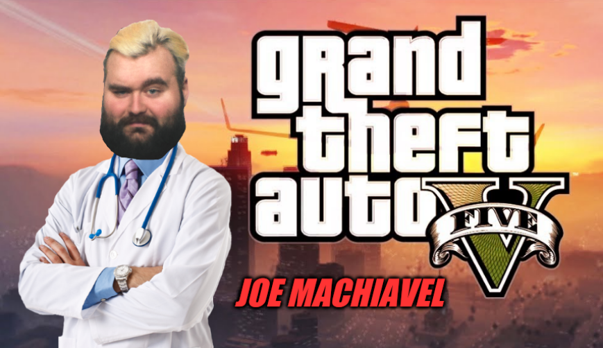 Quand les urgences sont débordées, quand la veuve et l'orphelin sont en pls, tous, font appel à leur dernière chance :   Docteur JOE MACHIAVEL !  Sur #GTARP et @AlticaRP , ça se passe sur https://t.co/y6EU1q79XU dès 16h ! HO YEAH ! https://t.co/B6iNxTHPbI