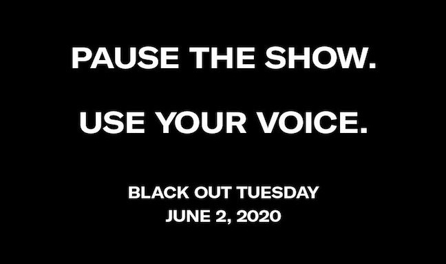 I'm with @QuincyDJones #BlackOutTuesday #TheShowMustBePaused #Tech4Good #Design4Good #Covid19 #ClimateChange #CleanAirDay