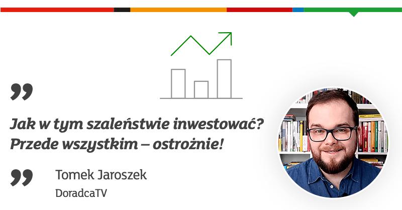 Zastanawiasz się, jak inwestować? 🤔 @TomaszJaroszek z kanału DoradcaTV zebrał kilka swoich przemyśleń na temat inwestowania w trudnych czasach. Zobacz materiał z 6⃣ wskazówkami dla początkujących: 👉https://t.co/mGx68pQtcs Pamiętaj, inwestowanie wiąże się z ryzykiem. https://t.co/nB1EoKLML6
