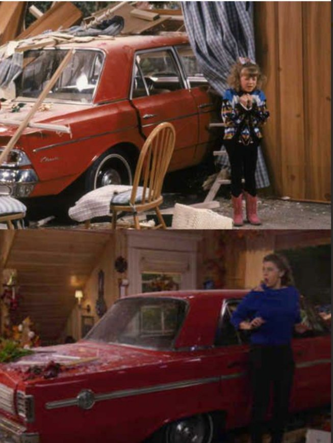 """""""I'm in the house. And I'm still in the car. Again"""" THE flashback. this was epic. #FullerHouse<br>http://pic.twitter.com/OcvnUkxxQ0"""