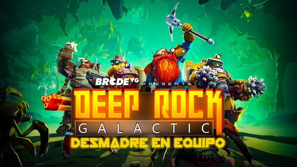 Asher y Folky emprendieron su aventura al centro de la Tierra jugando Deep Rock Galactic  checa este gameplay cooperativo en el se armó el desmadre en equipo https://youtu.be/yIJ1zLHmLn4pic.twitter.com/Wi1nzR6sK3