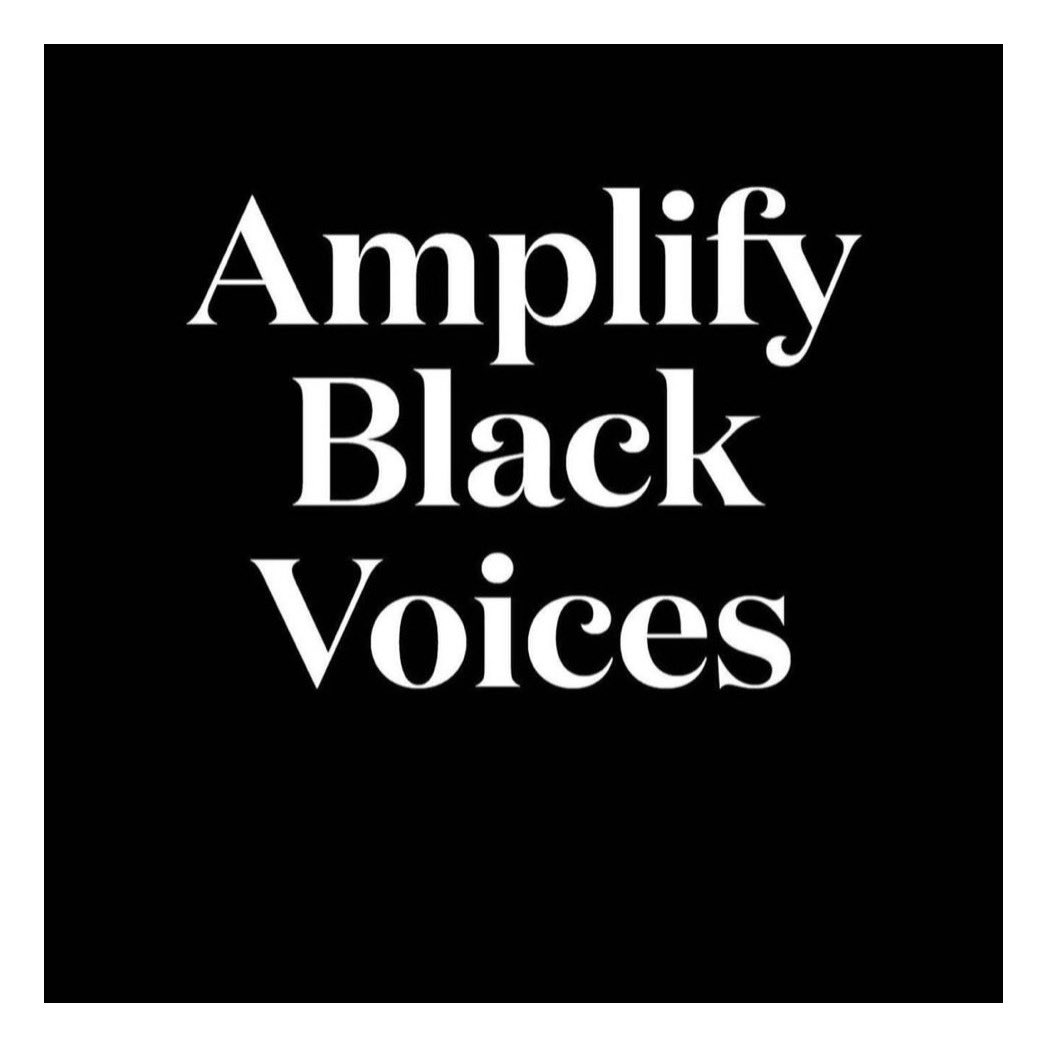 #AmplifyMelanatedVoices