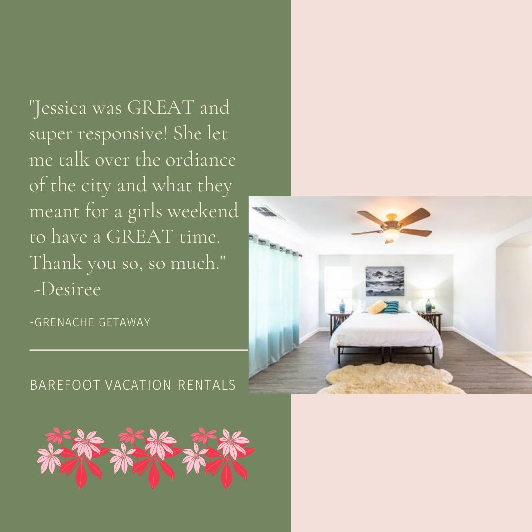Take it from one of our 5 star reviews that Grenache Getaway is a tranquil space and great for larger groups. Check out more pictures of this house and all our homes on the website. #smallbusiness #postcardsfromtheworld #luxuryholiday #temeculacalifornia  #raomtheplanet #tuesdaypic.twitter.com/3eisECATmr