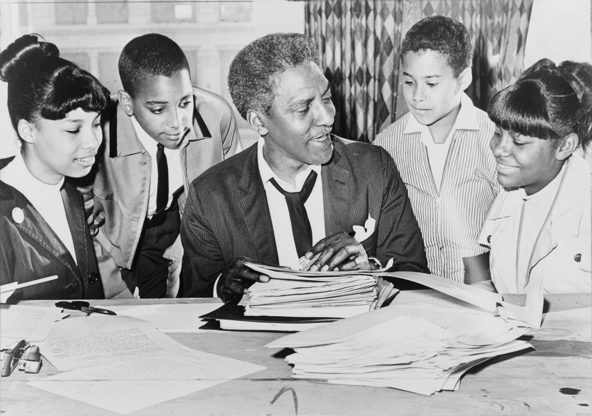 """""""When an individual is protesting society's refusal to acknowledge his dignity as a human being, his very act of protest confers dignity on him.""""  - Bayard Rustin  Keep those words with you tonight and throughout the week. https://t.co/k6bexvfpk8"""