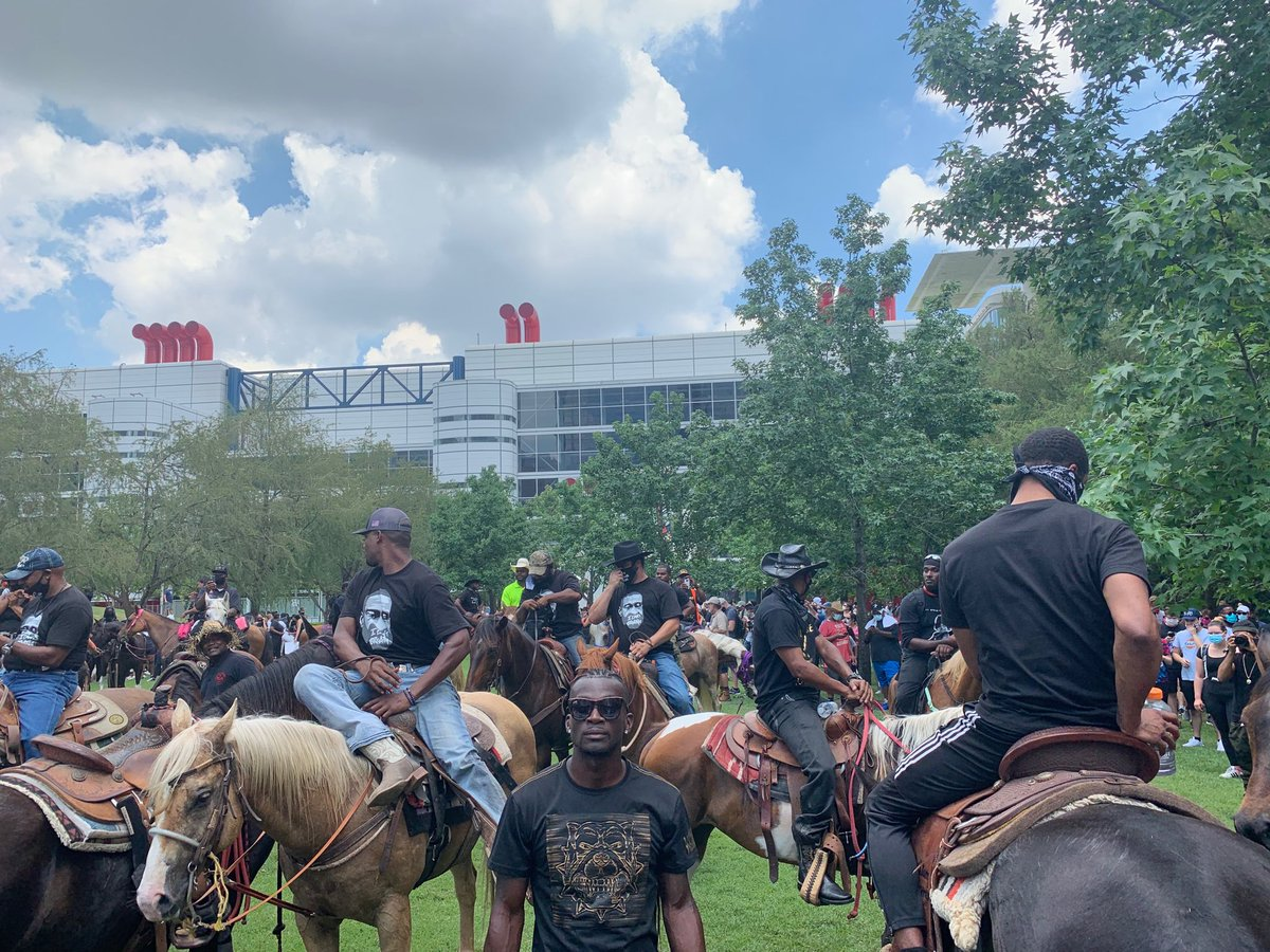 Protest Texas style