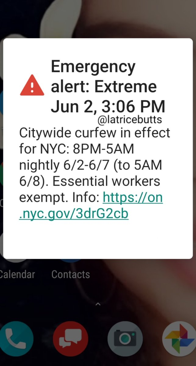 We've been on #Lockdown since #March2020 because of #Covid19 😷  The #Coronavirus was finally calming down here in #NYC with limited stores opened in #Manhattan    Because of these  #NYCRiots our new curfew is 8:00pm   #GeorgeFloydProtests started #NYCRiots now #Curfew #Riot2020