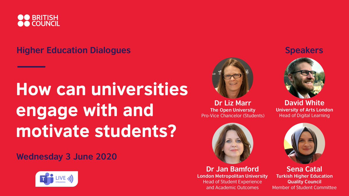 Mark you calendar: This week we will bring together higher education experts to discuss effective engaging and interacting with students. Join our conversation tomorrow at 16:00 (Israel time) and get involved in the discussion https://t.co/ks9u53LDUK https://t.co/hyCnEDUVB6