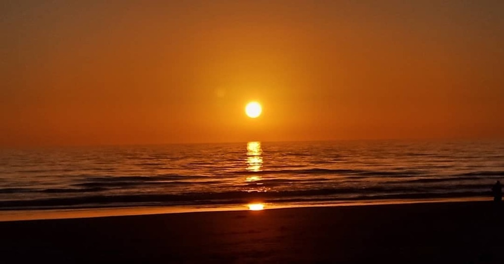 #morocco🇲🇦 #taghazout #sunset #sun #beautiful #sea #landscape #horizon #nature #water #TagsForLikes #instagood #picoftheday #photooftheday #all_shots #followme #iphonesia #instagood#bestoftheday #me #tbt #instadaily #TFLers #love #igers #like4like #photo #vsco #vscocam #nofi…