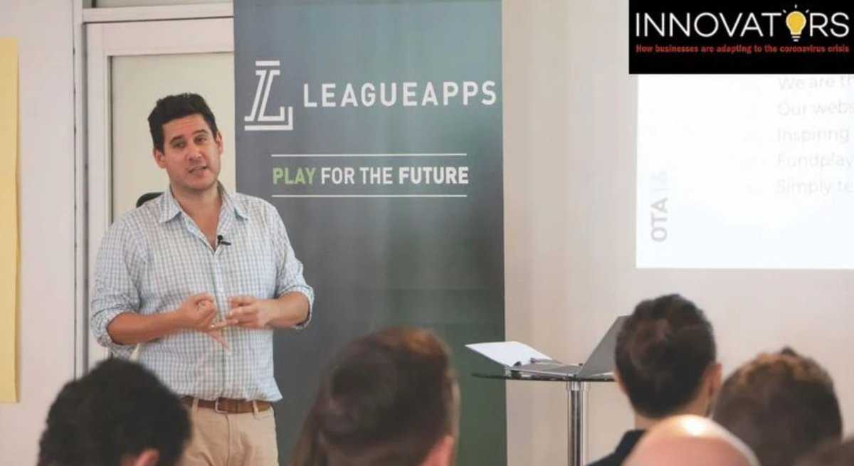 Sports software company keeps leagues in play #CrainsNY ow.ly/hgoj50zWJqA