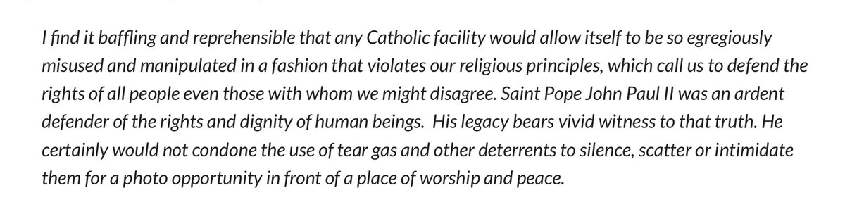 Having watched +Wilton for 20 years (dating to his USCCB Presidency), covered him for 15 – and knowing both his premium on conciliation & allergy to using an excessive comma, let alone word – today's blistering, provocative comment is unlike anything I've ever seen him issue. https://t.co/zTgWOe7R8n
