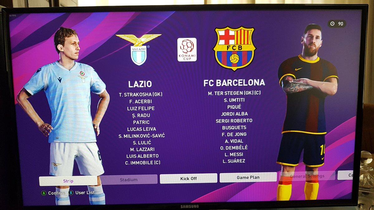#Matchday  #CULERSATHOME #Mésqueunclub #ViscaBarça #ForçaBarça @FCBarcelona_cat @FCBarcelona @officialpes #THEPITCHISOURS #TheEvolutionOfFootball #WhereTheLegendsPlay #PlayingIsBelieving #Footballislife See you in #eFootballPES2020pic.twitter.com/WUN42PyRlr
