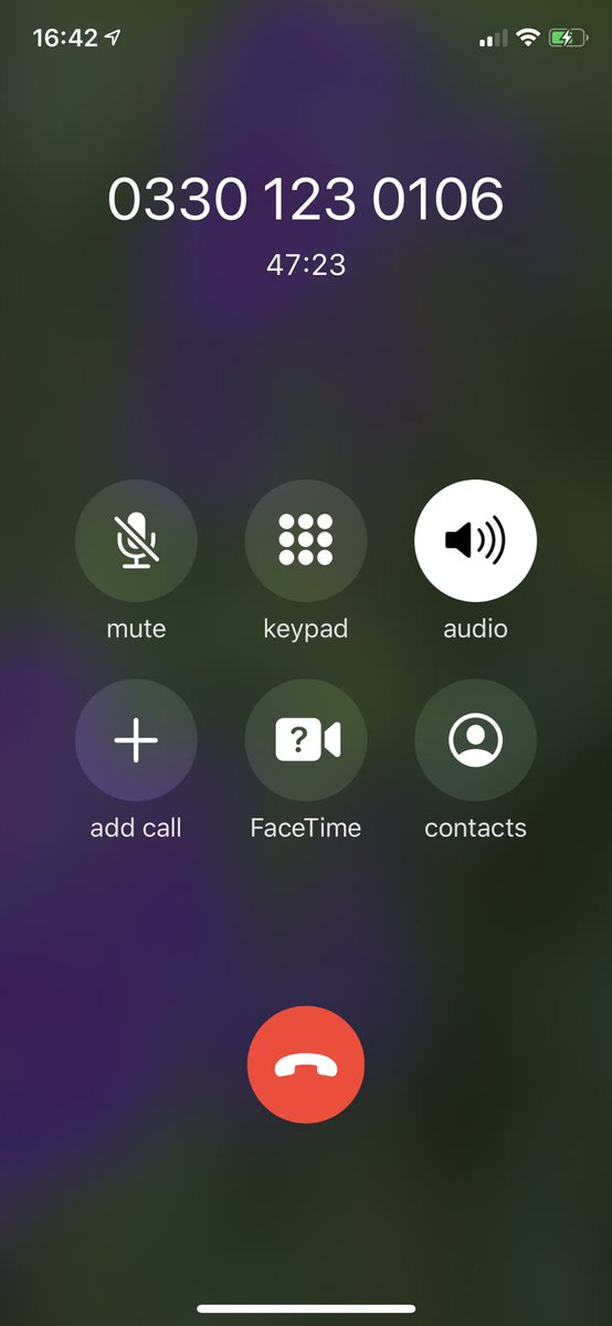 On hold and forgotten by John Lewis Customer Service. It's been 25 min since the rep put me on hold. Clearly isn't coming back. @jlandpcustserv @jlandpartners