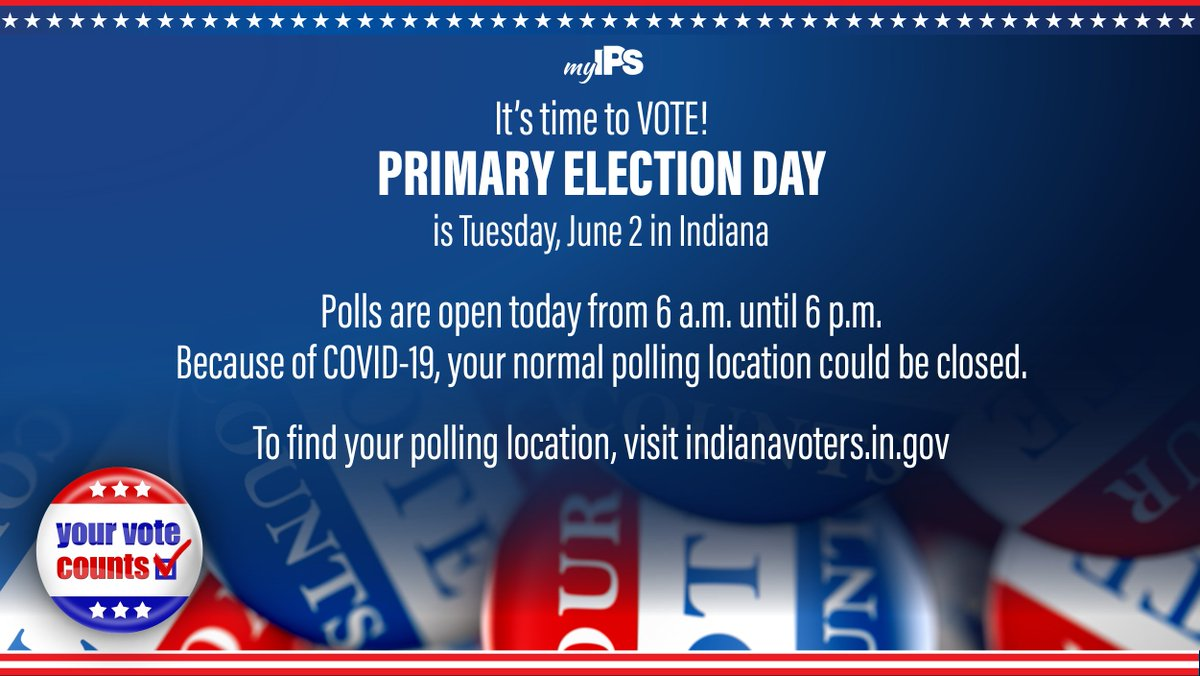 Find your polling location here.✔️🗳 👉indianavoters.in.gov