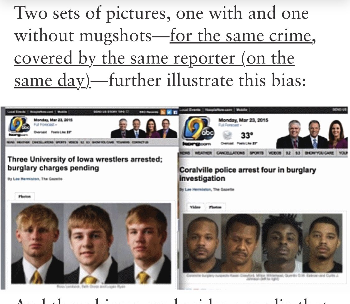 Understanding and exposing white privilege in the media ⬇️