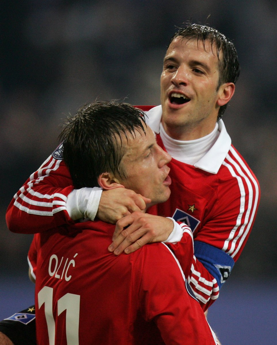 Once upon a time at @HSV 🤩  🔥 Ivica Olić & Rafael van der Vaart   #UEL https://t.co/IyU2SEtRVx