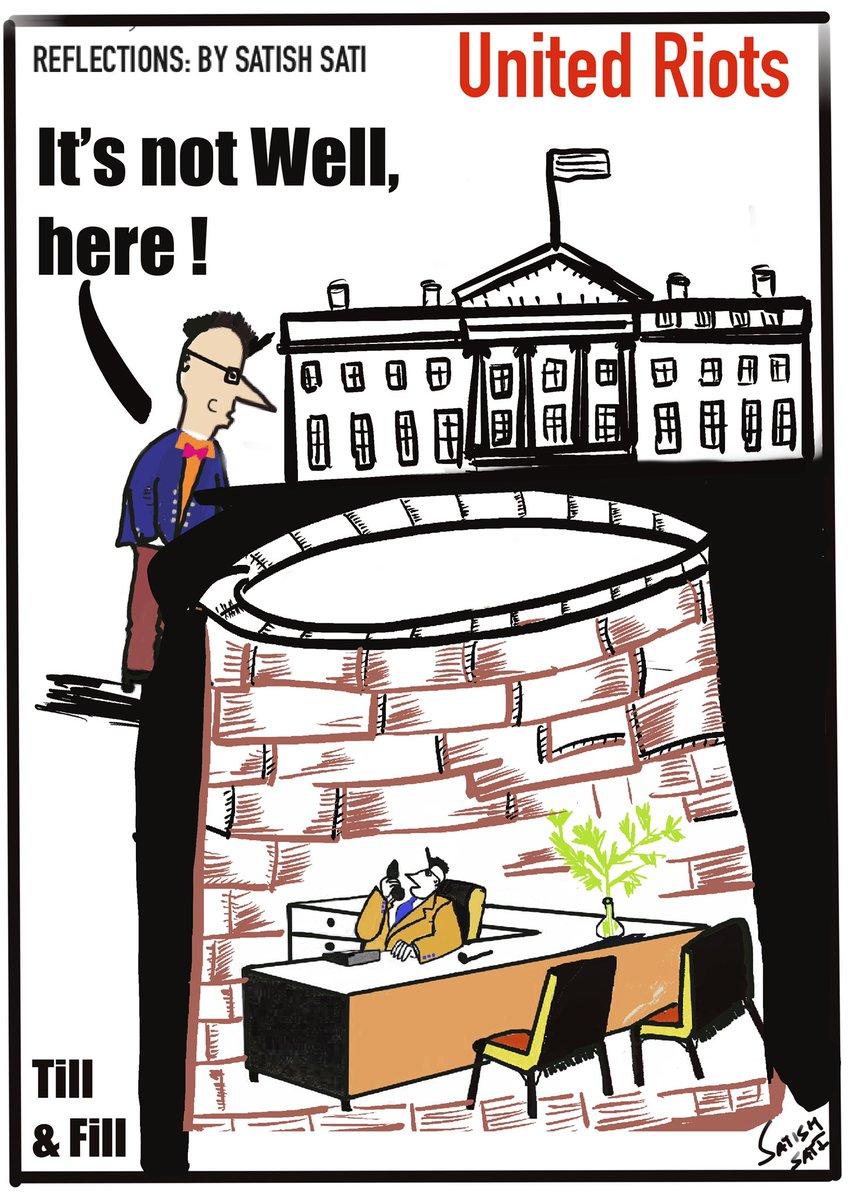 Dystopian Days. #COVIDUpdates  #Cartoon #SocialMedia #SMM #SEO #protests2020 #WebDesigning #Training #gamedevelopment #100DaysOfCode #gamedesign  #cartoons #ICantBreathe #Unrest #minneapolisriots  #BlackLivesMatter  #Riot2020 #GeorgeFloyd #Bunker #georgeOrwell #Minneapolis<br>http://pic.twitter.com/n1l1YBPTPW
