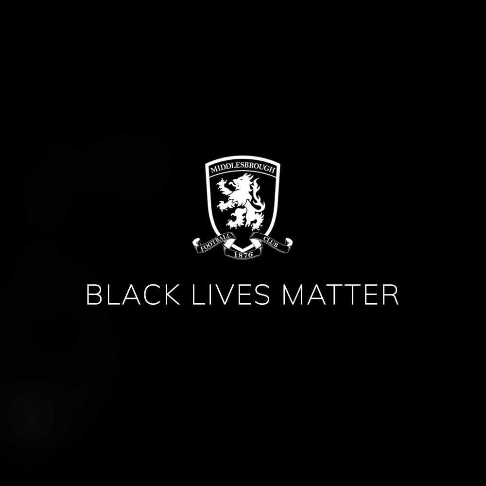 Racism has no place in football or society  We stand together against all forms of discrimination   #BlackLivesMatter https://t.co/CX79JZ2dQV
