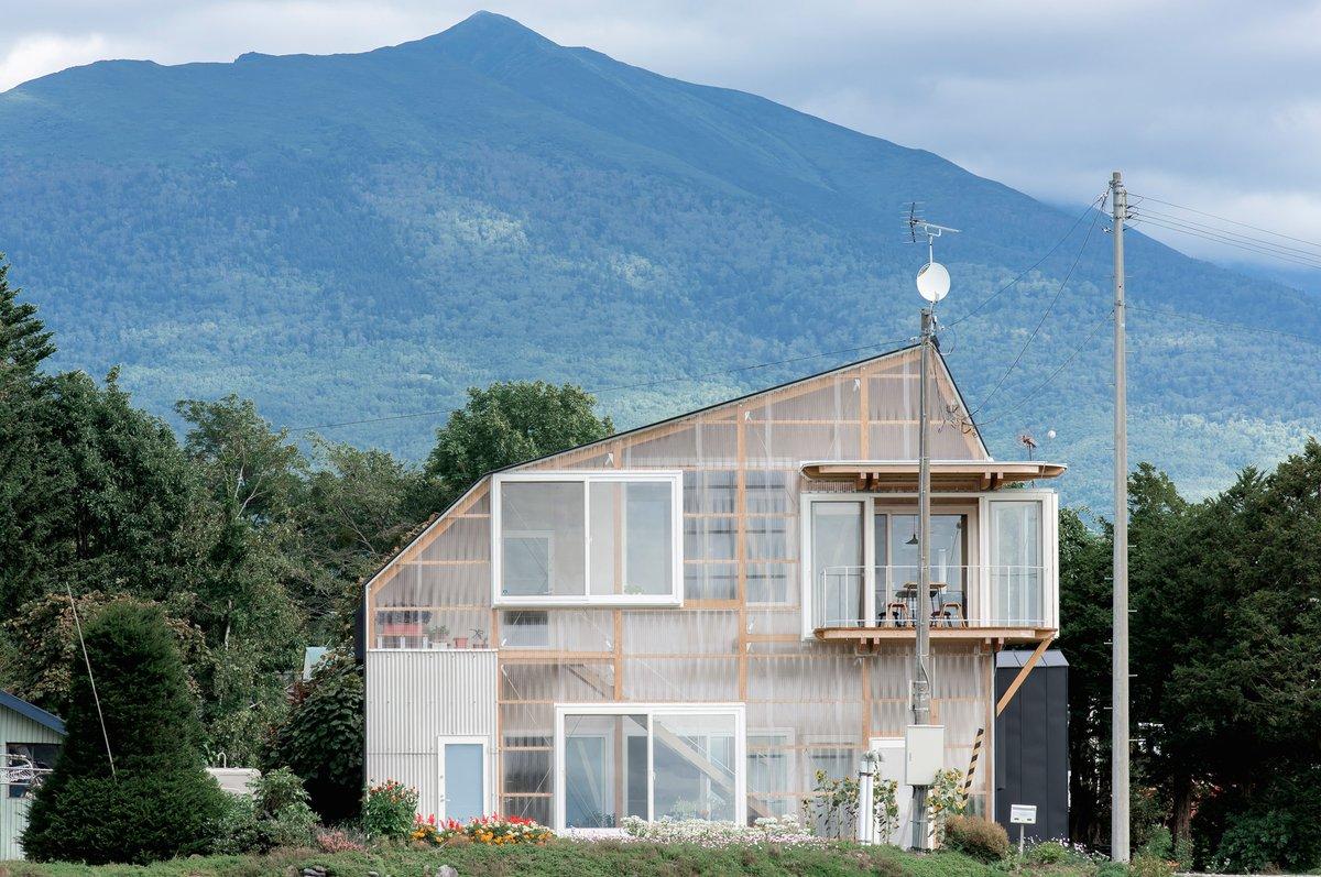 This house on the Japanese island of Hokkaido has been renovated by architecture studio Yoshichika Takagi + Associates: at.dezeen.com/3cQSG4w
