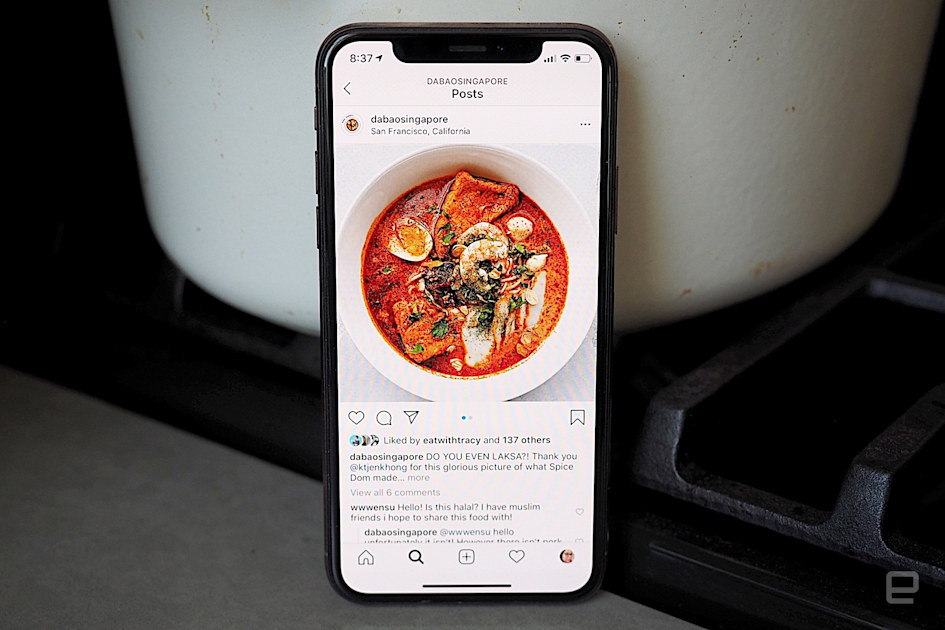 Laid-off chefs are using Instagram for income during the pandemic