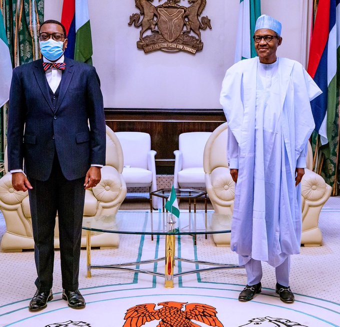 Embattled AFDB President: Nigeria Have Your Back, Buhari Assures Adesina