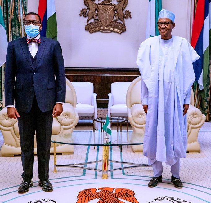 Embattled AFDB President: Nigeria Have Your Back, Buhari Assures Adesina