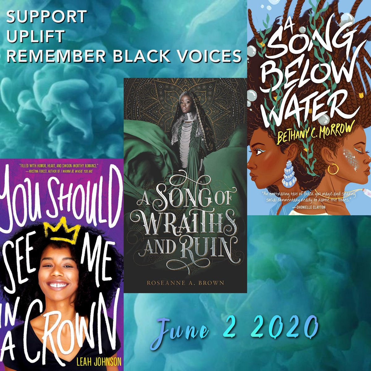 HAPPY RELEASE DAY to these Black authors! @byleahjohnson @rosiesrambles @BCMorrow
