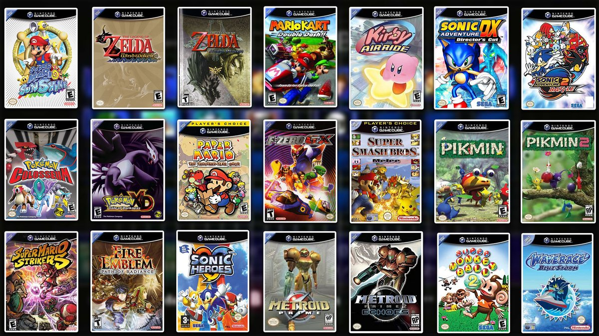 I had to go CRAZY for this one!  If you could pick 5 GameCube Games to come to Switch from this List, which would it be?!  Retweets are appreciated and really help out!!