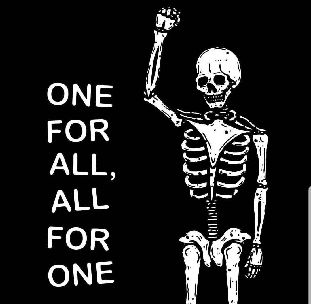 One For All, All For One  #Art by Dirty Hands pic.twitter.com/cKpRk9BZAn