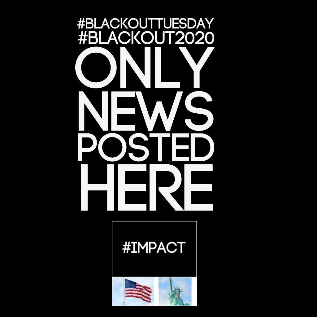 #BlackLivesMatter #BlackOutDay2020 #BlackoutDay @Bullets_4_Life @littleredblog @MzDivah67 @bannerite @AuntLulie @Amaliada @scyeatts @GGevirtz @MrGoalie35 @jimmacpam @NaphiSoc @Murray_RileyJr