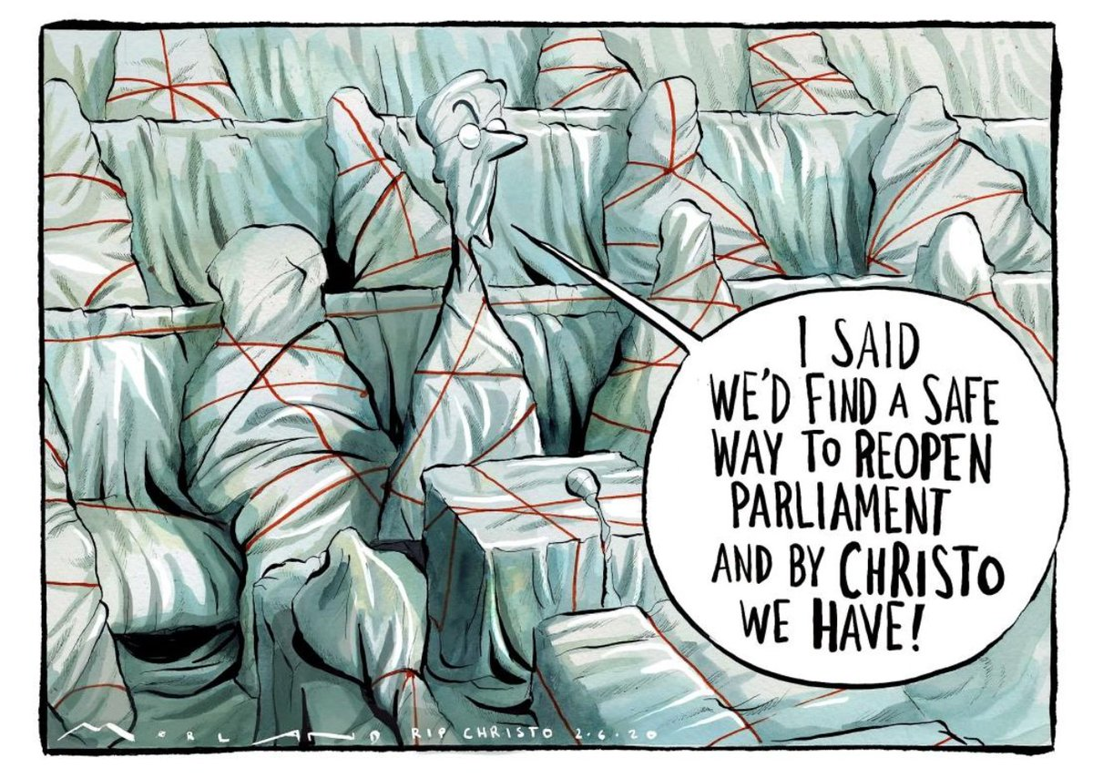 Sometimes one must have a care for the cartoonists. Poor @mortenmorlands cartoon in this mornings @thetimes now seems significantly more sensible than the procedures actually adopted at Westminster today.