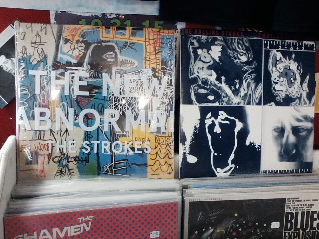 Happy Birthday to Fabrizio Moretti of the Strokes & Charlie Watts of the Rolling Stones