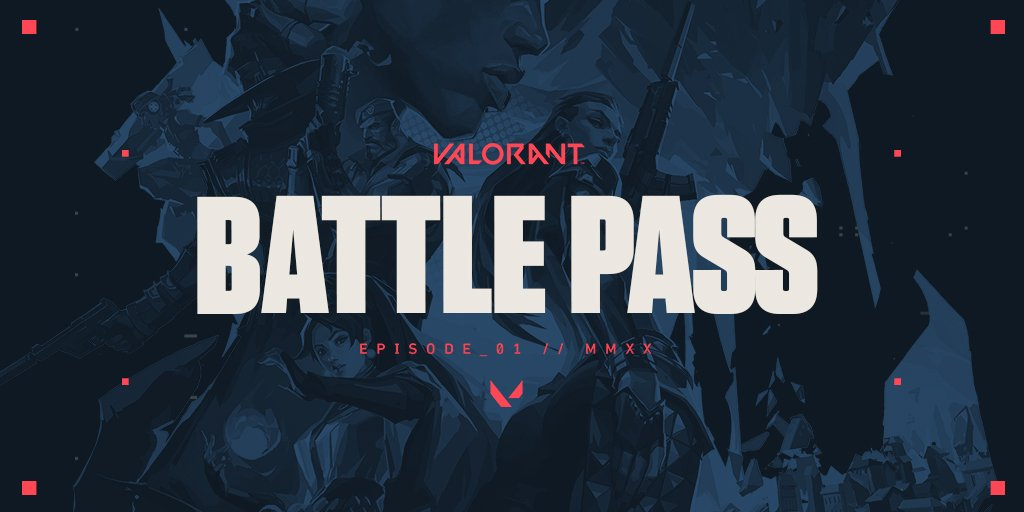 Launch into the VALORANT Battlepass. 10 Chapters with exclusive rewards. You know the deal.