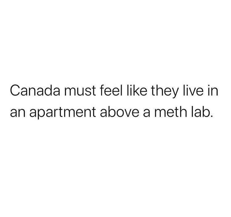 Thoughts #Canada?
