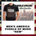 Image for the Tweet beginning: AMERICAN FLAG    #puddleofmudd #puddleofmuddmerch