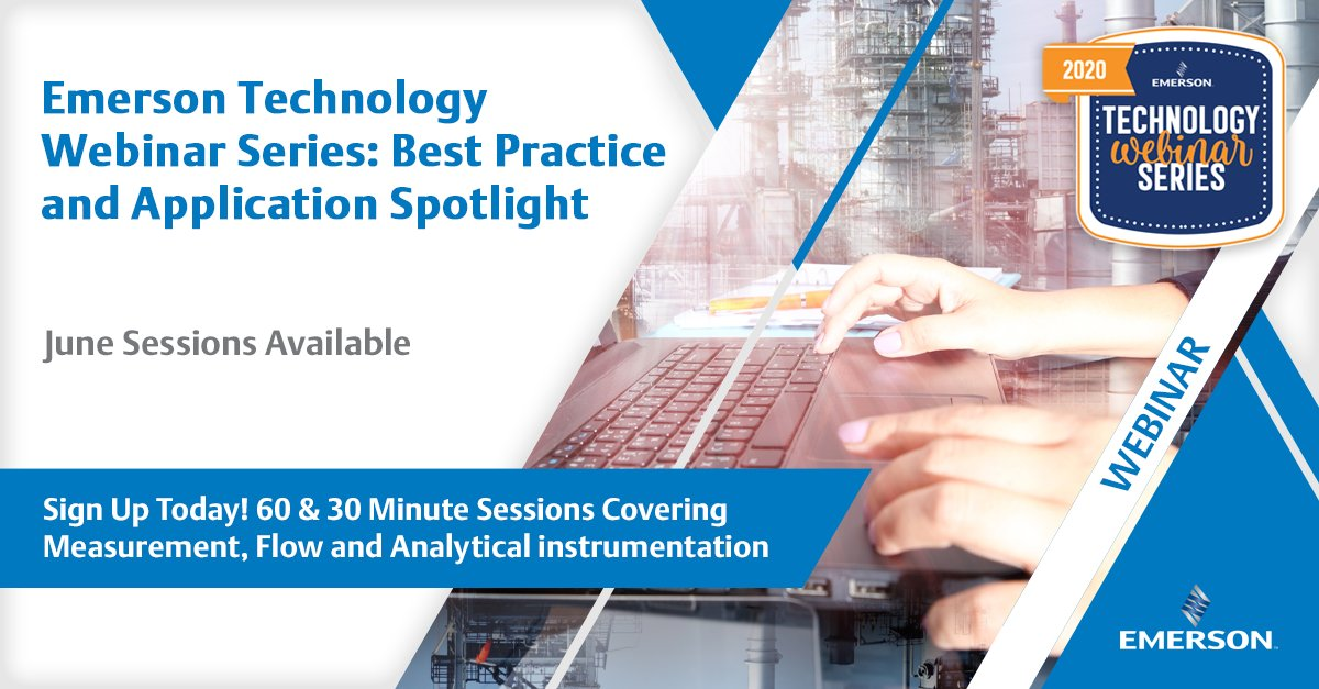 Webinar Series! Join us as we deep dive into Measurement, Flow and Analytical instrumentation during our Technology Webinar Series. June sessions available. See the full list of classes here: https://t.co/VAviakxxQn https://t.co/9ovrvfNrBQ