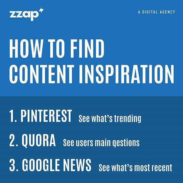 How To Find Content Inspiration? . #pinterest #quora #google #contentmarketingtips #content #contentmarketing #contentcreation #contentstrategy #contentwriting #digital #digitalmarketingtips #Twitter #TwitterTips #TwitterFactCheck #TwitterTrends https://t.co/4ReIWTsnBJ