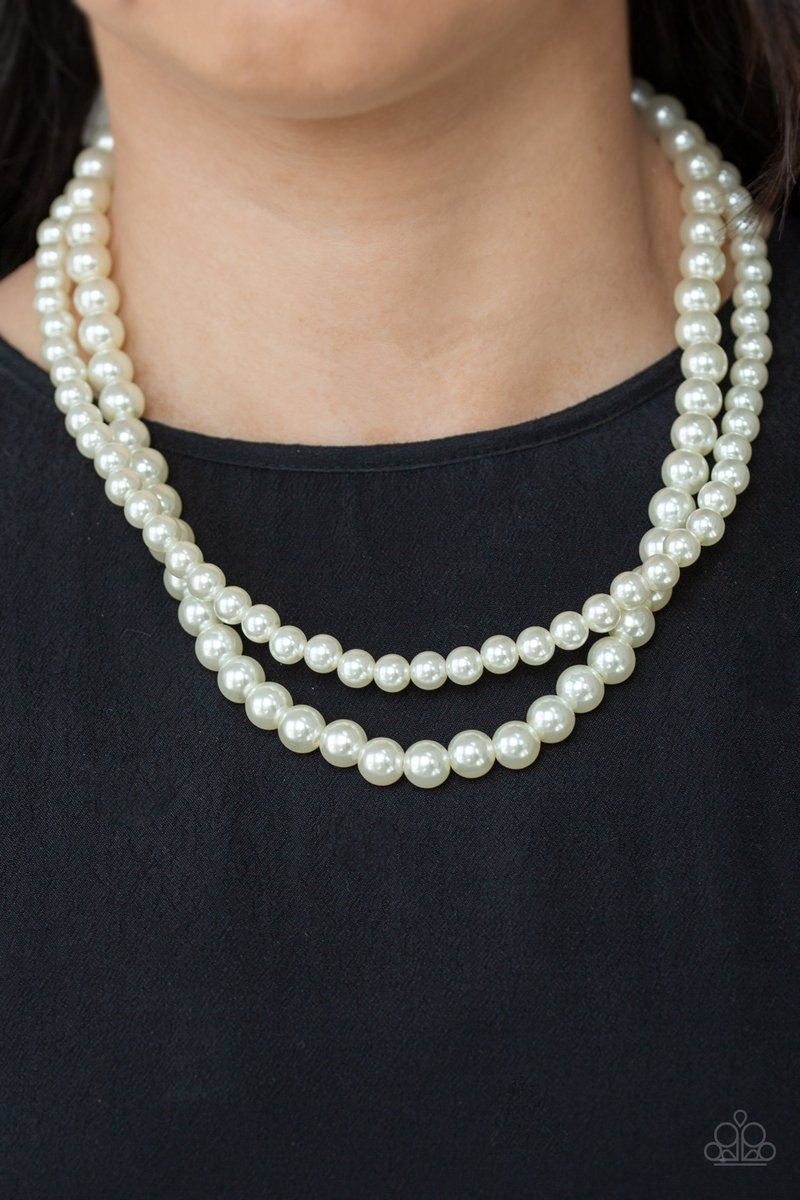 Every girl should have a cute white pearl necklace. Check out this one only $5 plus taxes!  Shop with me    #blingbyChartreuse #paparazziaccessories #jewelry #paparazzi #paparazzijewelry #dollarhabit #entrepreneur #fashion #paparazziconsultant #earrings