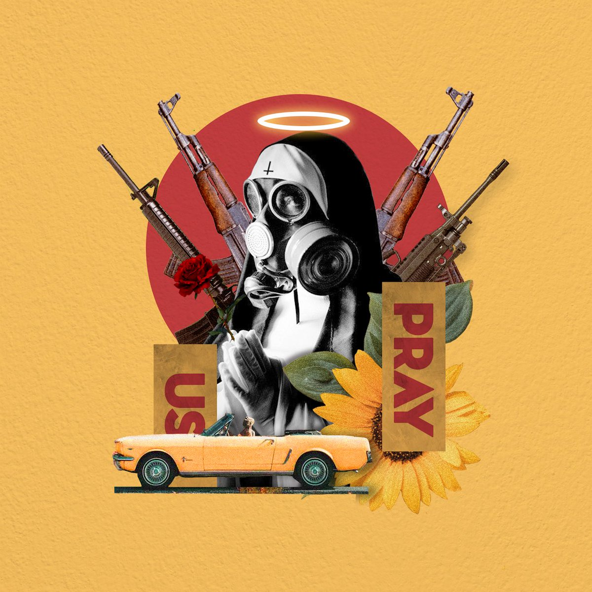 Angel of War - Collage by me - #collageart #graphicdesign<br>http://pic.twitter.com/9JAZC9SY94