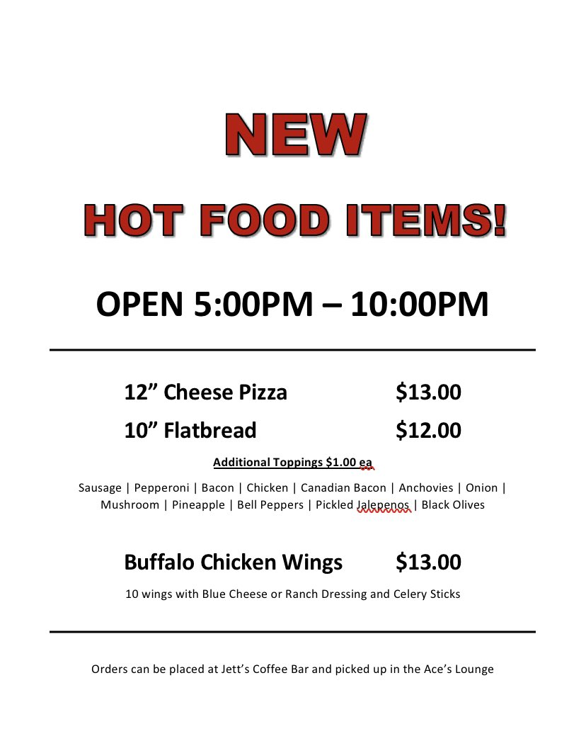 We have added new items to our Jets Market Menu! https://t.co/yfSqqWrQAL