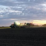 Image for the Tweet beginning: Rusty Farms planting into the