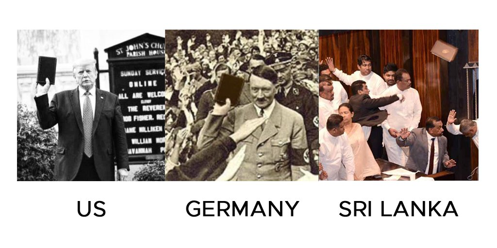 Aren't we different from the rest of the world?  #lka #SriLanka #PoliticalMeme #Memes #Politics pic.twitter.com/vazoW0gVed