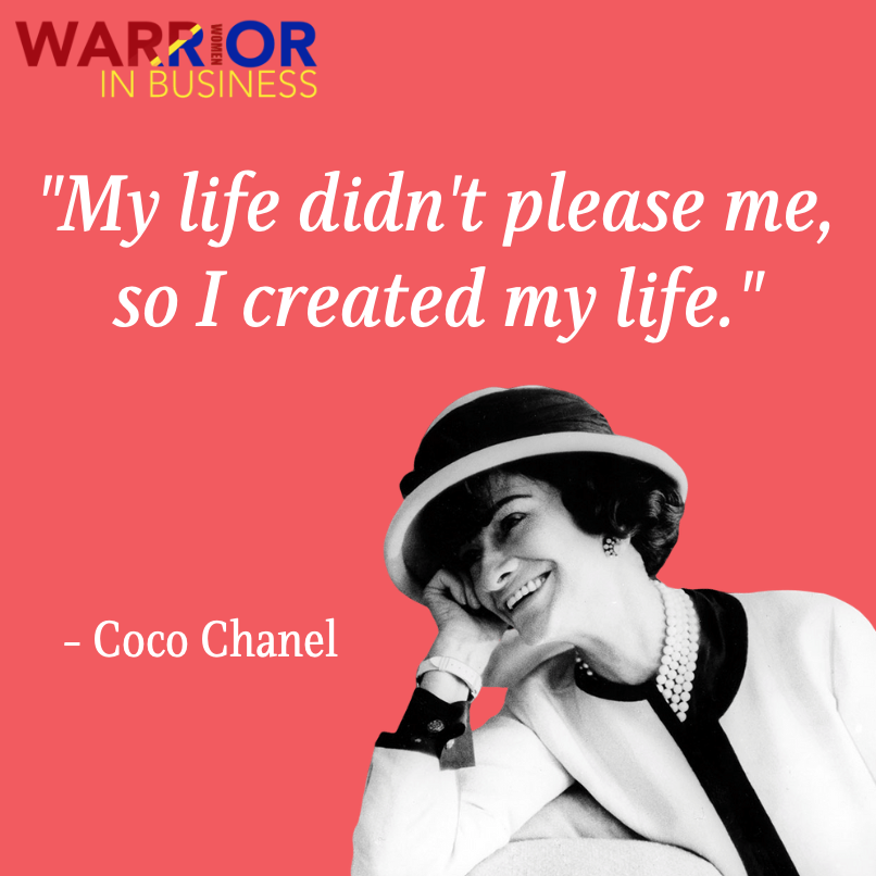 Coco Chanel was a #French #fashiondesigner, and #businesswoman. She is the founder and namesake of the #Chanel brand.   Take Coco's advice and #CREATEYOURLIFE! Here at WWIB we are here to support you every step of the way.  Join the #WWIB LinkedIn group! https://t.co/9dNguKa3oW https://t.co/xQQcRvNMdT