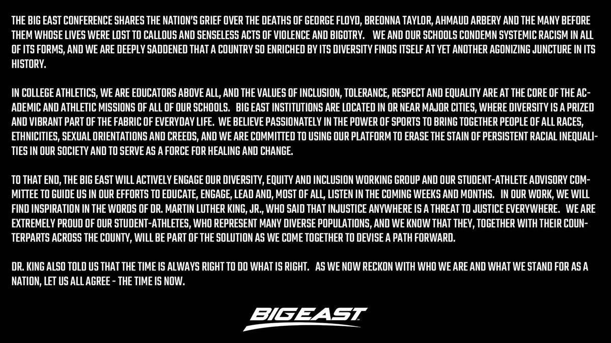 BIG EAST Conference (@BIGEAST) on Twitter photo 2020-06-03 15:17:49
