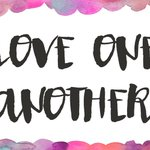 """Image for the Tweet beginning: John 13:34-35: """"Love one another,"""