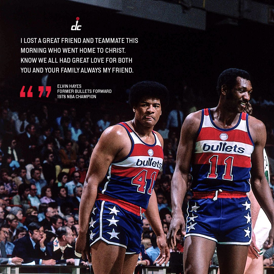 Forever champions, together. 🏆  Unseld 4️⃣1️⃣ 🏛 Hayes 1️⃣1️⃣ https://t.co/tqELUee2zG