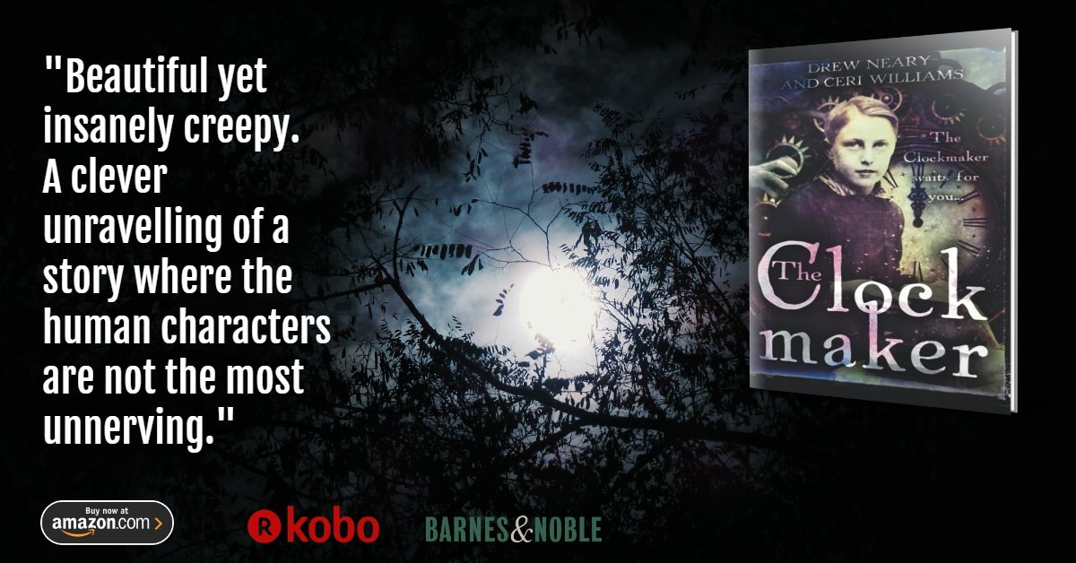 """""""This was a very good story. Imaginative, very different from whatever I've read in the past. The atmosphere was fantastic–Scottish highlands! Very dark, gothic almost, I really felt it."""" #DarkTourist #creepypasta #horrorfans https://amazon.com/Clockmaker-Ceri-Williams-ebook/dp/B07CRQ12CX/… https://amazon.co.uk/Clockmaker-Ceri-Williams-ebook/dp/B07CRQ12CX/…pic.twitter.com/ODTc1oGaQS"""