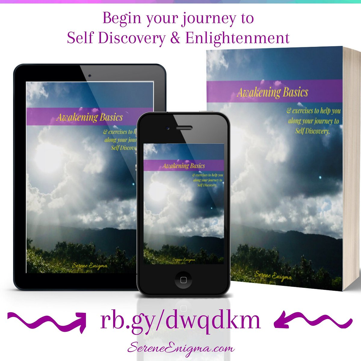 Tips and practical guidance for your awakening journeyJust follow the link http://rb.gy/dwqdkm #sereneenigma #ebook #ebooks #spiritual #spiritualdevelopment #spirtuality #spiritualawakenings #spiritualjourney #spiritualgrowth #enlightenment #takebackyourpowerpic.twitter.com/YrauhSVfwP