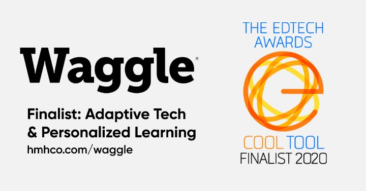 Are you thinking about adaptive and personalized learning for Back to School 2020? Learn how Waggle @HMHCo—an EdTech's Cool Tool Awards finalist—can meet your Back to School needs. http://spr.ly/6016G1nGo pic.twitter.com/O4aFJkWpoo