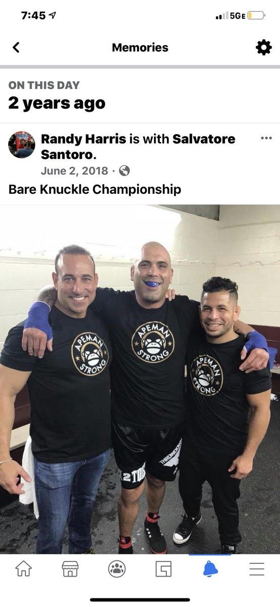 First @bareknucklefc main event https://t.co/t0uqwtmaN9