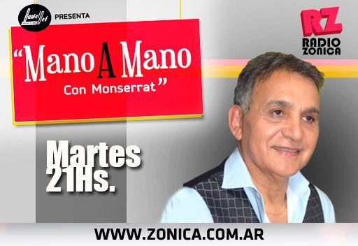#AIRE #RadioZonica #GrupoZonicaEnCasa  Estás escuchando #ManoAManoConMonserrat desde casa. ¡Disfrutá las entrevistas!  http://www.radiozonica.com.ar / App: Radio Zonica  #GrupoZonicapic.twitter.com/QvQNP3qBs8